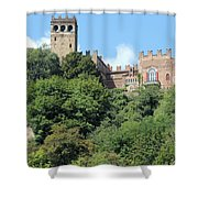 The Castle Of Camino Shower Curtain