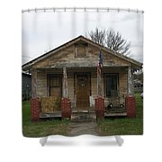 The Cat House Shower Curtain