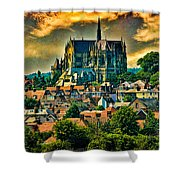The Cathedral At Arundel Shower Curtain