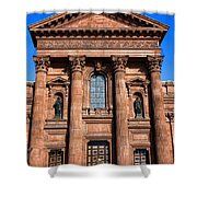 The Cathedral Basilica Of Saints Peter And Paul Shower Curtain