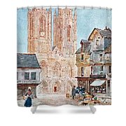 The Cathedral Front Shower Curtain