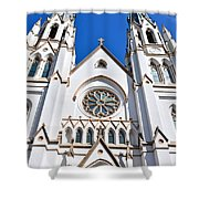 The Cathedral Of St. John The Baptist Shower Curtain