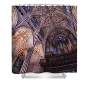 The Cathedral Of St. Patrick Shower Curtain