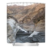 The Caverns From Hell Shower Curtain