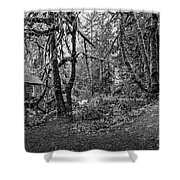The Cedar Creek Mill Trail Shower Curtain