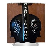 The Celtic Lady 1 Shower Curtain