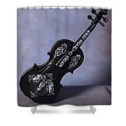 The Celtic Lady 2 Shower Curtain