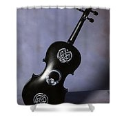 The Celtic Lady 3 Shower Curtain