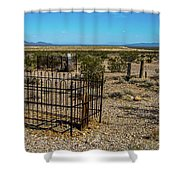 The Cemetery Shower Curtain