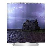The Centerville Horror Shower Curtain