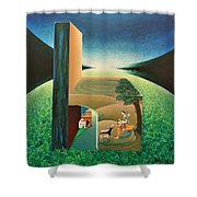 The Chair - A Shower Curtain