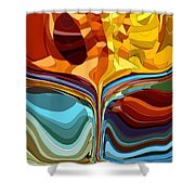 The Chalice II Shower Curtain