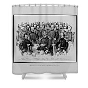 The Champions Of The Union -- Civil War Shower Curtain