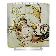 The Chandelier Females 1513 Shower Curtain