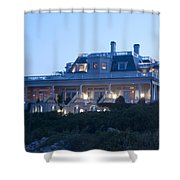 The Chanler At Cliff Walk Shower Curtain