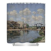 The Channel Of Saint Martin Shower Curtain