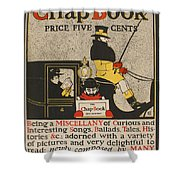The Chap Book Shower Curtain