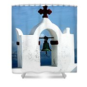 The Chapel Bell Shower Curtain