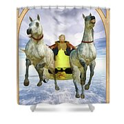The Chariot Shower Curtain