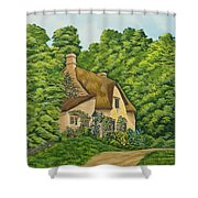 The Charm Of Wiltshire Shower Curtain