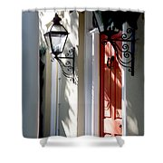 The Charme Of Charleston Sc Shower Curtain