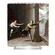 The Chastity Of Joseph Shower Curtain