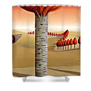 The Cheeky One Shower Curtain