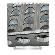 The Cheese Grater Detail Shower Curtain