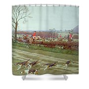 The Cheshire Away From Tattenhall Shower Curtain