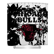 The Chicago Bulls Shower Curtain
