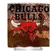 The Chicago Bulls R2 Shower Curtain