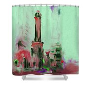 The Chicago Water Tower 535 4 Shower Curtain
