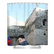 The Child Of Bethlehem 2010 Shower Curtain