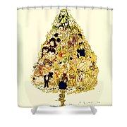 The Children Tree Shower Curtain