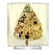 The Children Tree Shower Curtain