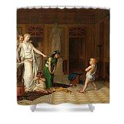 The Children's Quarrel Shower Curtain