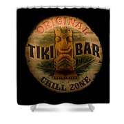 The Chill Zone Shower Curtain by Trish Tritz