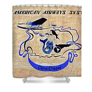 The China Clipper Shower Curtain