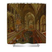The Choir - Canterbury Cathedral Shower Curtain