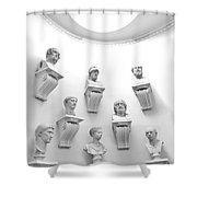 The Choir Shower Curtain