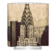 The Chrysler Building New York Shower Curtain