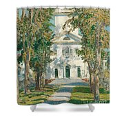 The Church At Gloucester, 1918 Shower Curtain