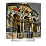 The Church Of All Nations Shower Curtain
