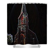 The Church Of Saint Peter Shower Curtain
