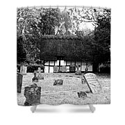 The Churchyard Shower Curtain