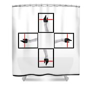 The Cicle Shower Curtain