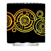 The Circle Key Shower Curtain