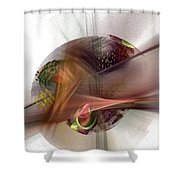 The Circle Sea Shower Curtain