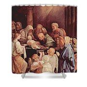 The Circumcision Of The Child Jesus 1640 Shower Curtain