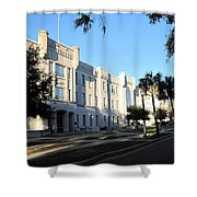 The Citadel In Charleston IIi Shower Curtain